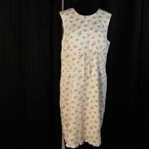 Liz Claiborne Cotton Light Light Pink Dress
